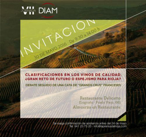 VII Jornada Diam: Debatte über die Klassifizierung von Rioja-Weinen