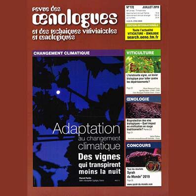 FRANCE - Revue des Œnologues n°172 -  OIR / OTR (part 3/3)
